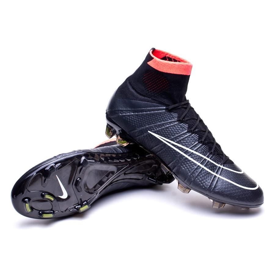brand new 66937 b7a93 Scarpe Nike Mercurial Superfly FG ACC Negra-Hyper punch-Volt