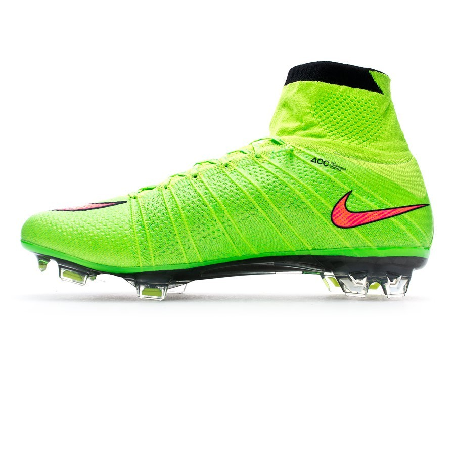 online store 593ce e73f3 Football Boots Nike Mercurial Superfly FG ACC Electric green-Hyper punch -  Football store Fútbol Emotion