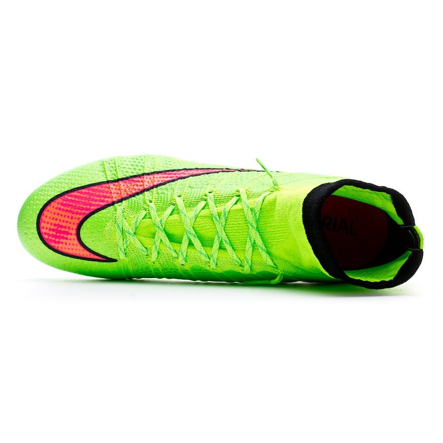 online store 0ce83 1f41b Football Boots Nike Mercurial Superfly FG ACC Electric green-Hyper punch -  Football store Fútbol Emotion