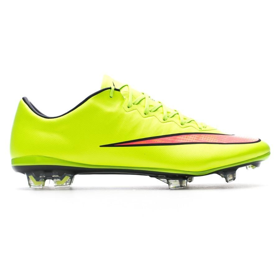 huge discount fd1f8 92b96 Football Boots Nike Mercurial Vapor X FG ACC Electric green-Hyper punch -  Football store Fútbol Emotion