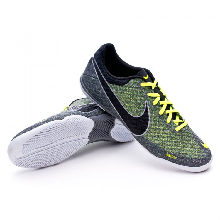 Murciélago tirano Hermanos  Zapatilla Nike Elastico Finale II Wolf grey-Negra-Volt - Tienda de fútbol  Fútbol Emotion