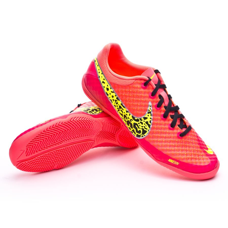 Sapatilha de Futsal Nike Elastico Finale II Hyper punch-Volt-Preto ... 16b1ccd4845f8