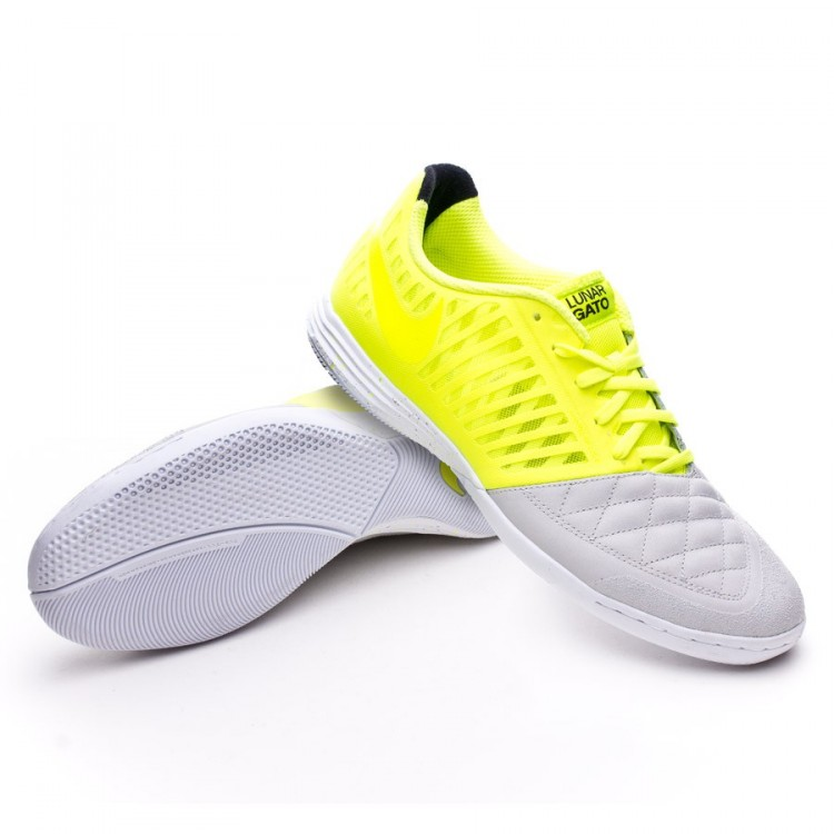 newest 88da2 9ae9e zapatilla-nike-lunar-gato-ii-neutral-grey-volt-