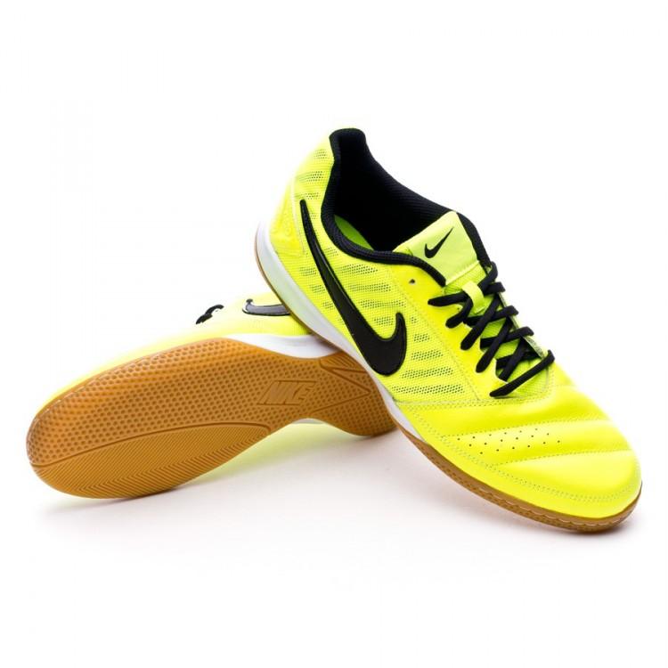 0879910f45f Futsal Boot Nike Gato II Volt-Black - Football store Fútbol Emotion