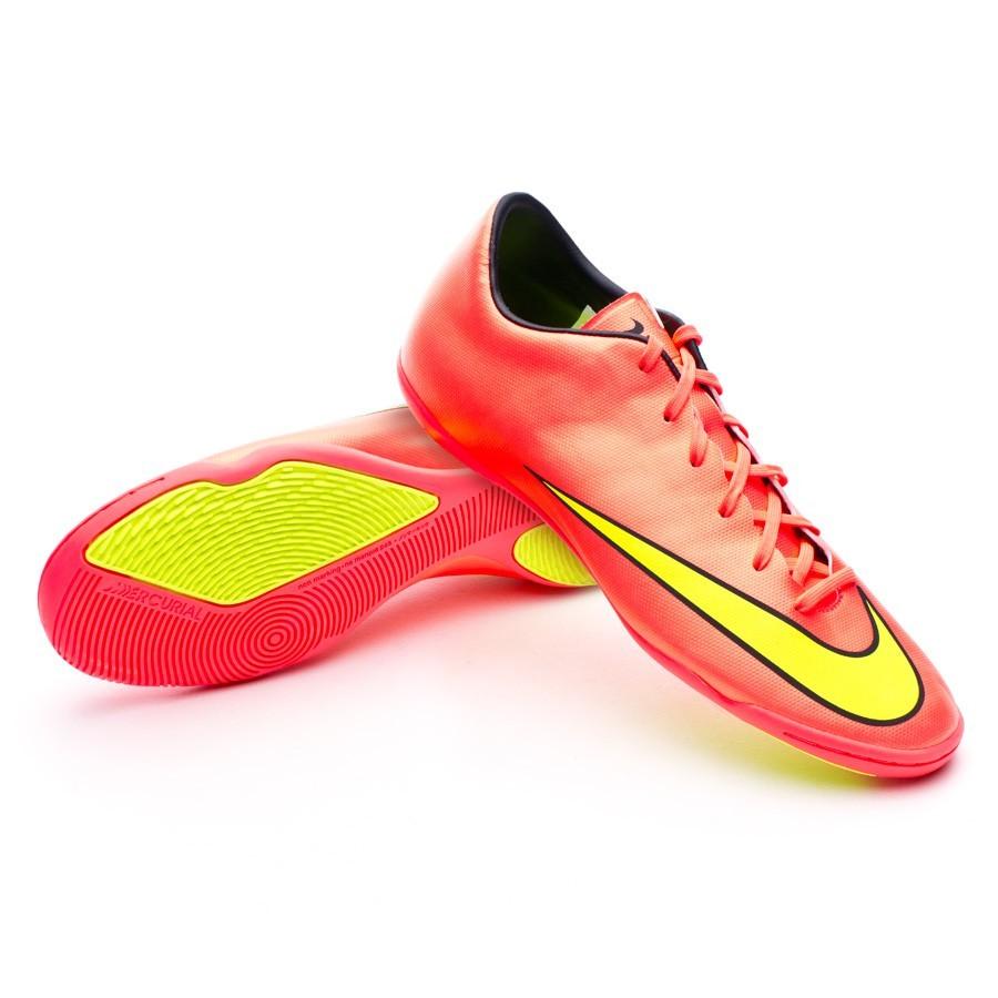 Sapatilha de Futsal Nike Mercurial Victory V IC Hyper punch-Metallic gold -  Loja de futebol Fútbol Emotion 79d023468ff72
