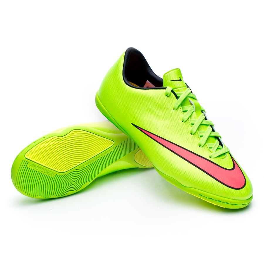 lowest price d3326 5e210 ... switzerland futsal boot nike jr mercurial victory v ic electric green  hyper punch football store fútbol