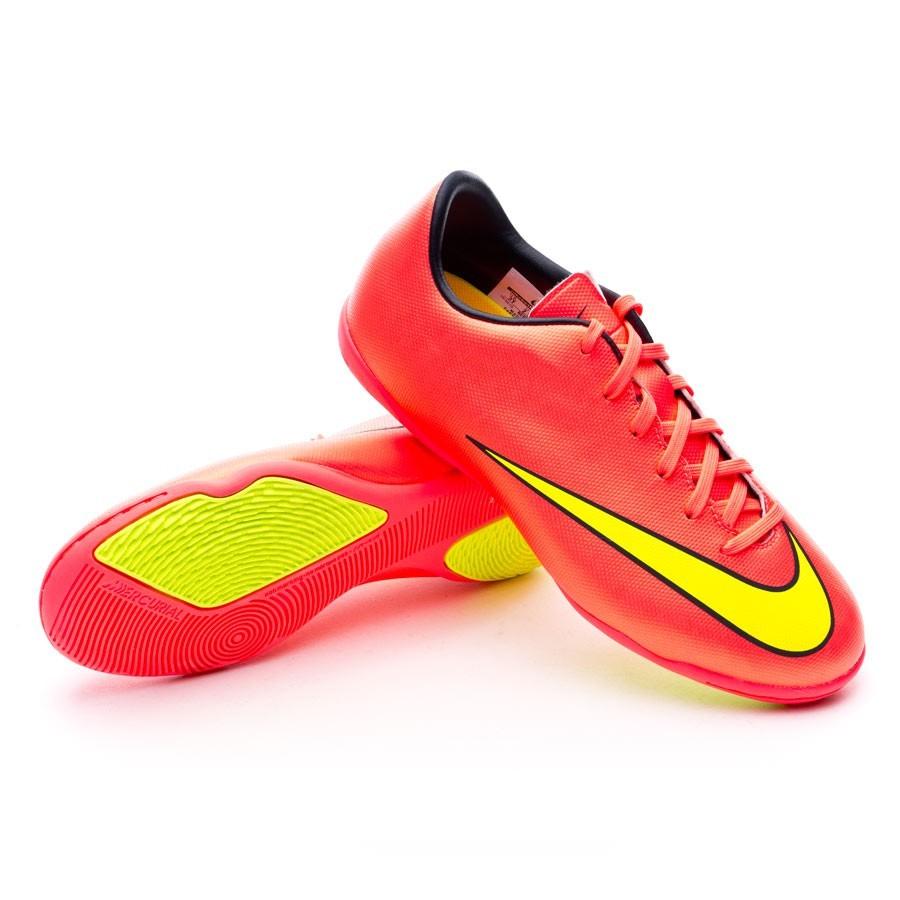 cf7679dcd Futsal Boot Nike Jr Mercurial Victory V IC Hyper punch-Metallic gold ...