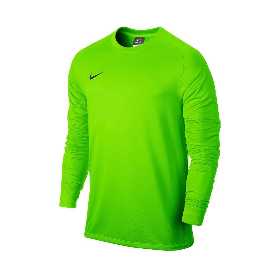 Camiseta Nike Park Goalie II Niño Electric green - Soloporteros es ... 4fd1e1aa64afe