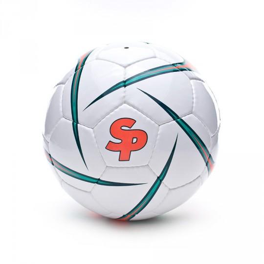 Balón  SP Iconic Blanco-Naranja Fluor-Verde