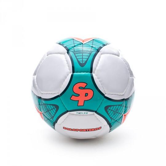 Ballon  SP Axler Futsal 2014 Blanc-Vert
