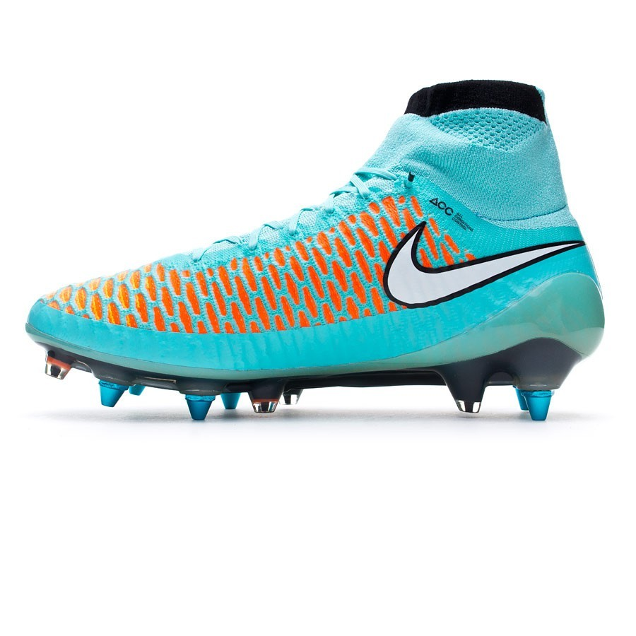 f6d1748bd101 Football Boots Nike Magista Obra SG-Pro ACC Hyper turquoise-White-Laser  orange - Football store Fútbol Emotion