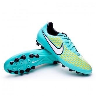 Chuteira  Nike Magista Onda AG Hyper turquoise-White-Laser Orange
