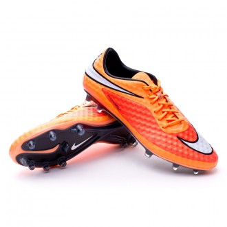 Hypervenom Phantom FG ACC Hyper crimson-White-Atomic orange