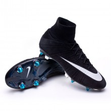 Mercurial Superfly SG-Pro ACC CR Preto-Branco-Hyper turquoise