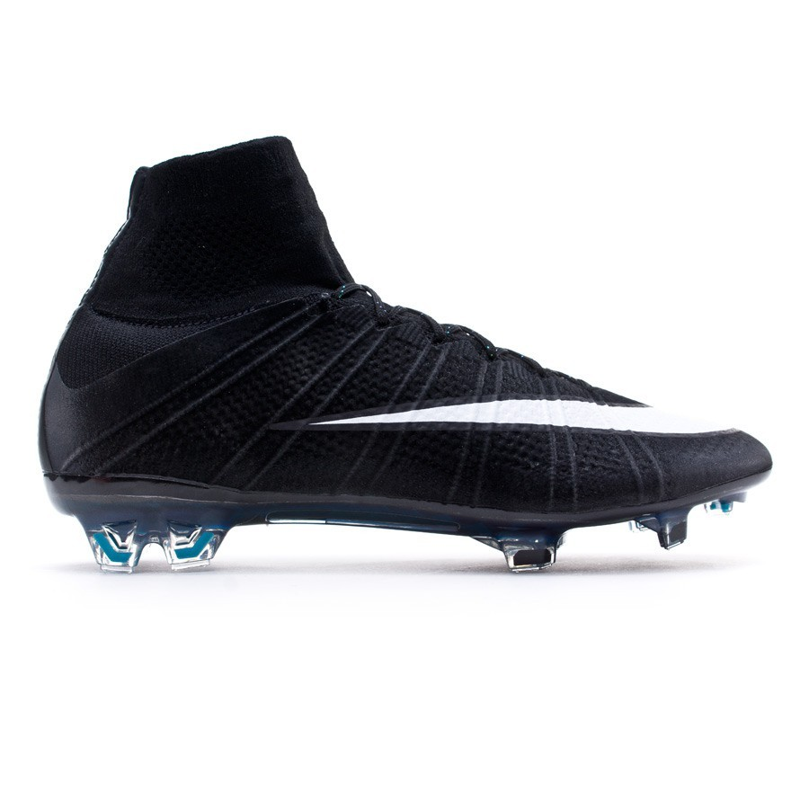 6faf8327760c5 Football Boots Nike Mercurial Superfly FG ACC CR Black-White-Hyper  turquoise - Football store Fútbol Emotion
