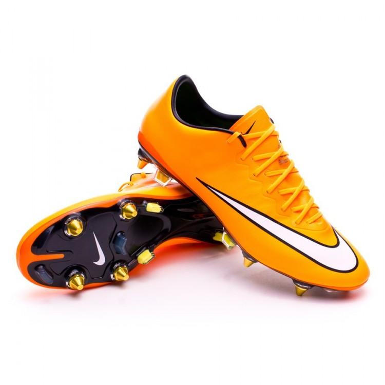 f651175533411 Football Boots Nike Mercurial Vapor X SG-Pro ACC Laser orange-White ...