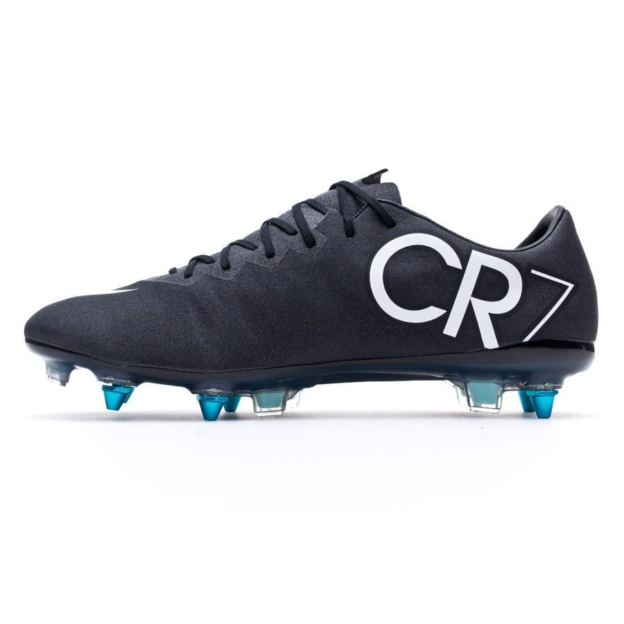 10cf70f44 Football Boots Nike Mercurial Vapor X SG-Pro ACC CR Gala Black-White-Hyper  turquoise - Tienda de fútbol Fútbol Emotion