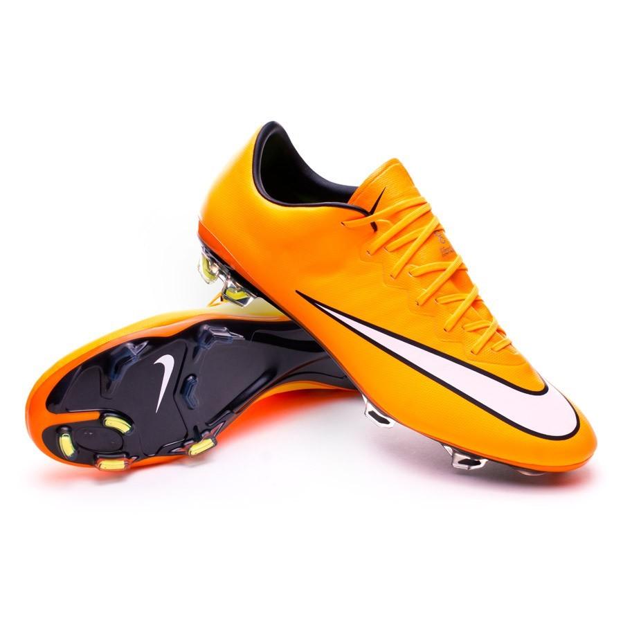 3d9cc37849c Football Boots Nike Mercurial Vapor X FG ACC Laser orange-White-Volt ...