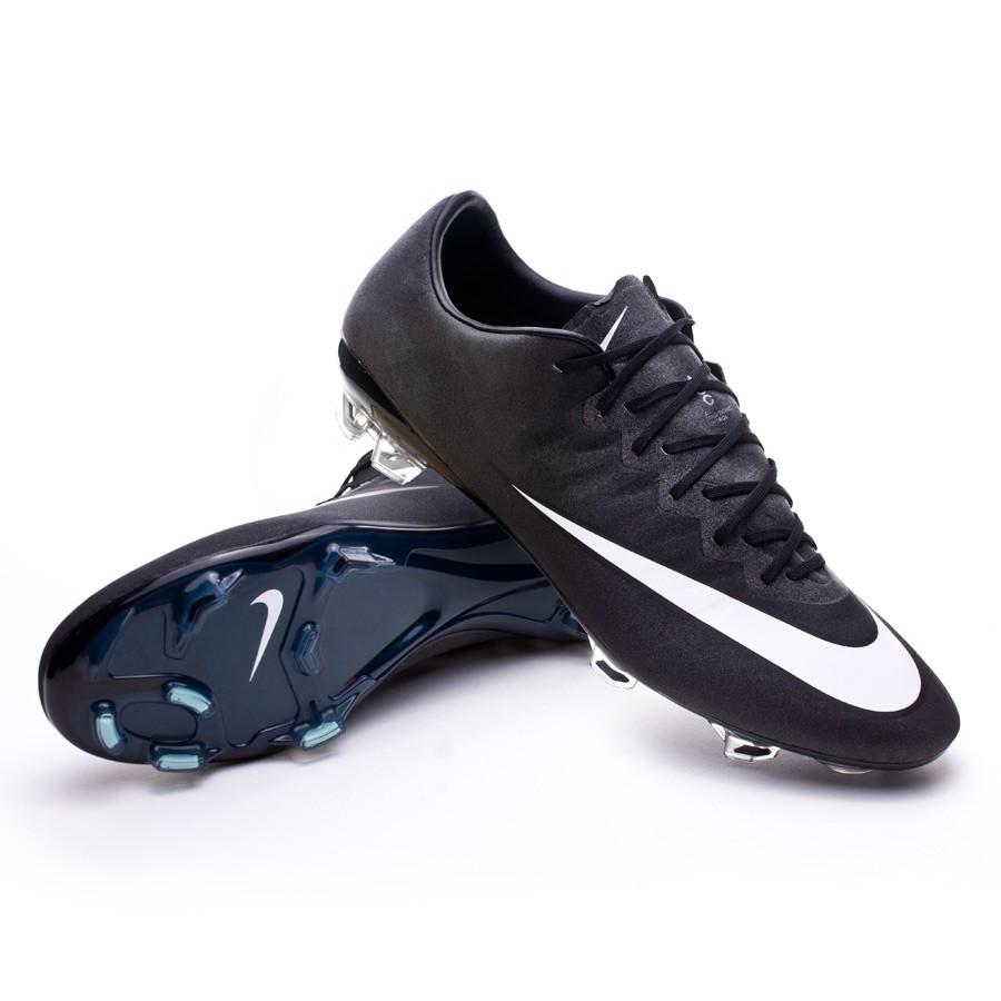 fc4c946b38c6f Football Boots Nike Mercurial Vapor X FG ACC CR Black-White-Hyper ...