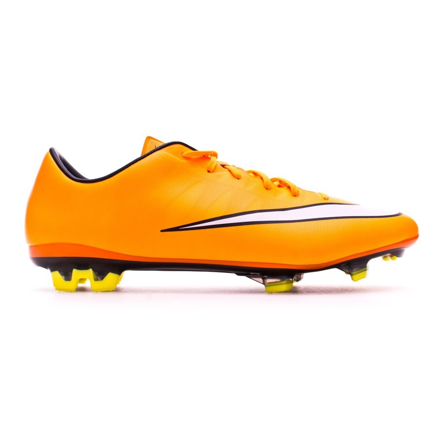a7c936bf0 Football Boots Nike Mercurial Veloce II FG Laser orange-White-Volt -  Football store Fútbol Emotion