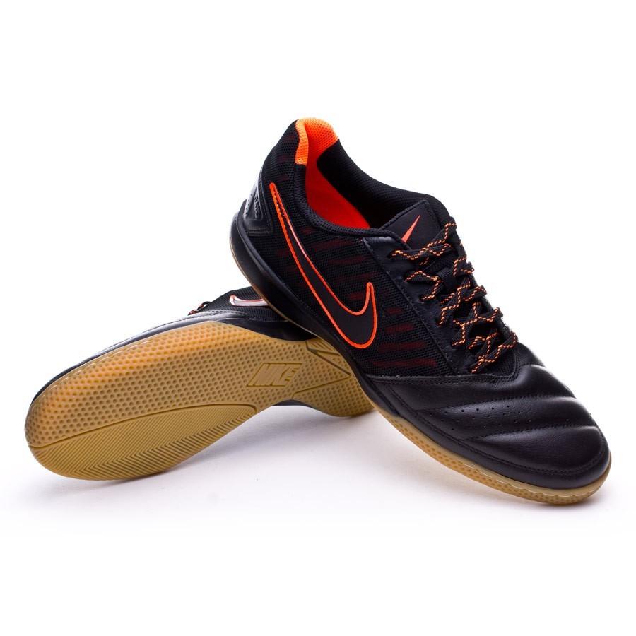 8b3b2923395 Futsal Boot Nike Gato II Black-Total crimson-Light brown - Football ...