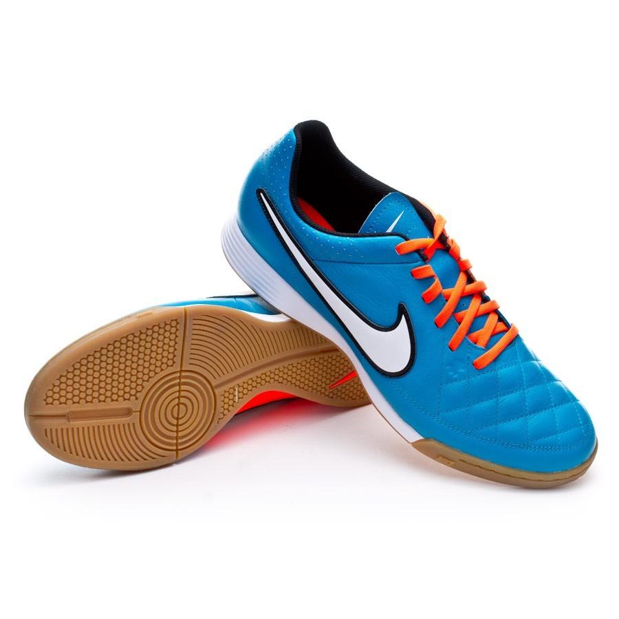 100% authentic 81259 7250b Tenis Nike Tiempo Genio Leather IC Neo turquoise-White-Hyper crimson -  Soloporteros es ahora Fútbol Emotion