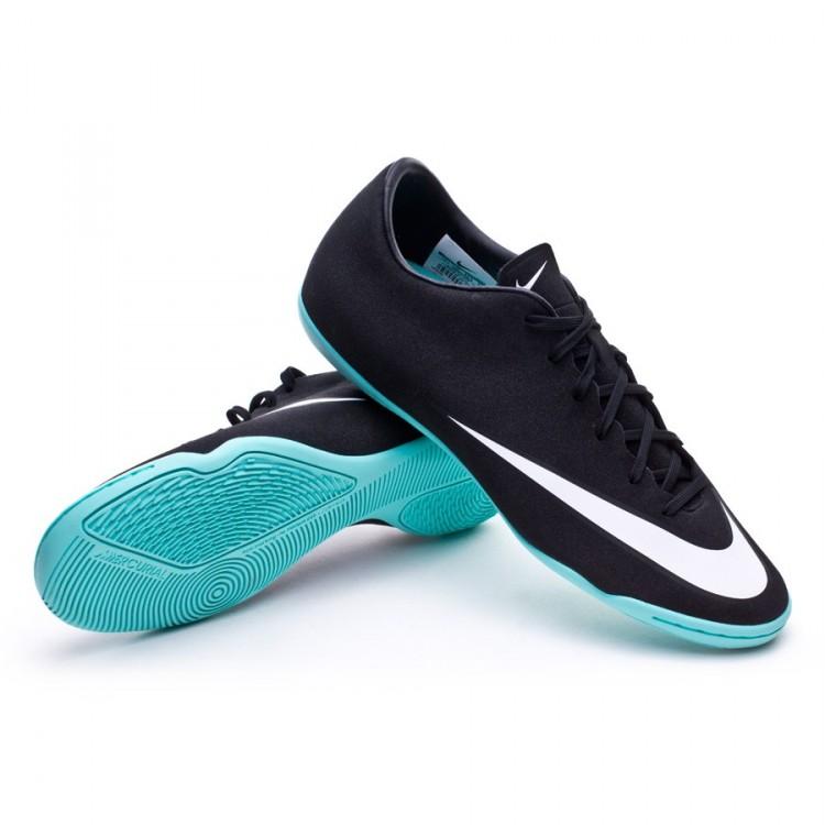 Futsal Boot Nike Mercurial Victory V IC CR Black-White-Hyper ... bcb4e59dabc7