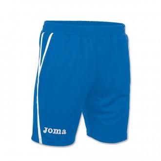 Pantalón corto  Joma Bermuda Game Royal-Blanco