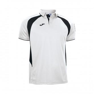 Polo shirt  Joma SS Champion III White-Black