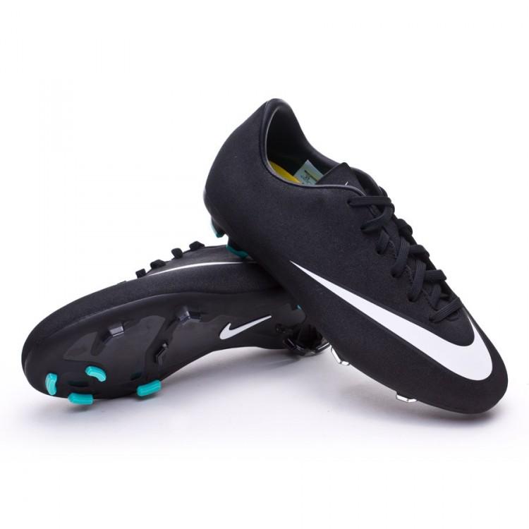Bota de fútbol Nike Mercurial Victory V CR FG Niño Negra-Blanca ... 9f67237cb2cf1