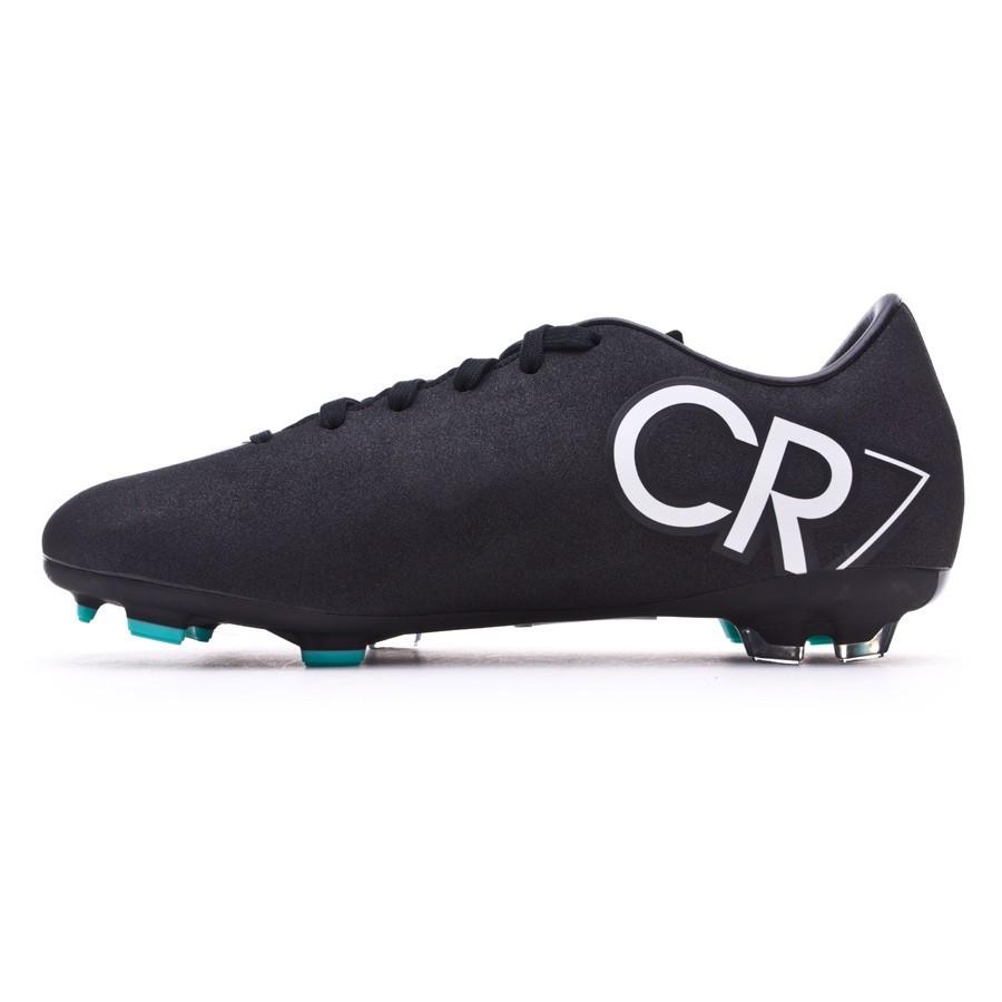 buy popular 35c08 3a821 Bota de fútbol Nike Mercurial Victory V CR FG Niño Negra-Blanca-Hyper  turquoise - Soloporteros es ahora Fútbol Emotion