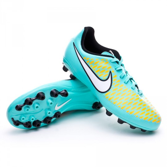 Chuteira  Nike Jr Magista Onda AG Hyper turquoise-White-Laser orange