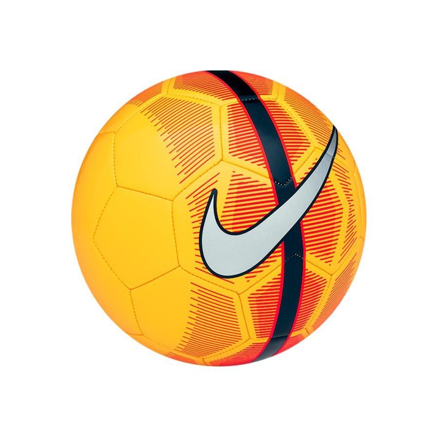 56f490e7e8a5b Ball Nike Mercurial Fade Yellow-Orange - Tienda de fútbol Fútbol Emotion