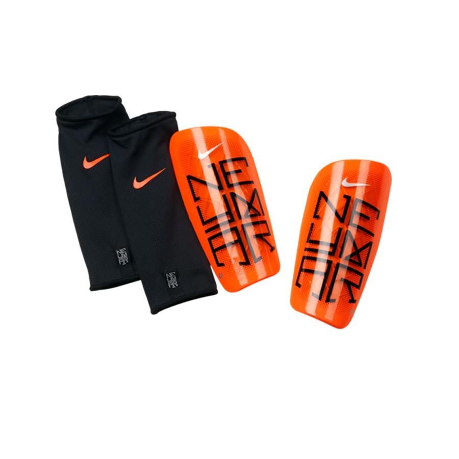 Shinpads Nike Mercurial Lite Neymar Orange - Football store Fútbol Emotion c53a44705703e