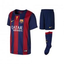 Conjunto Nike FC Barcelona Primera Equipación 2014-2015 Niño Azul ... 8dc7e10995f