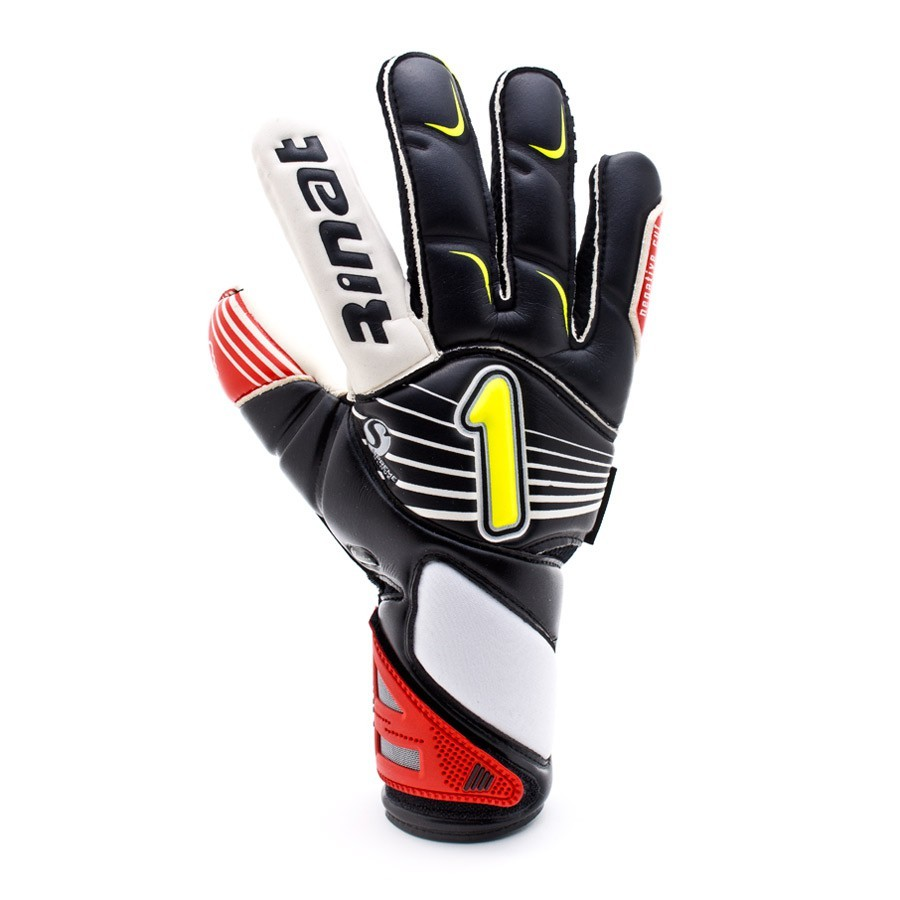 High Top Textil Guantes, Color Negro, Talla 46