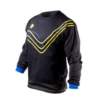 Sweatshirt  SP No Goal VI Preto-Amarelo