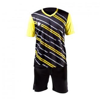 Conjunto  SP No Goal VI Negro-Amarillo