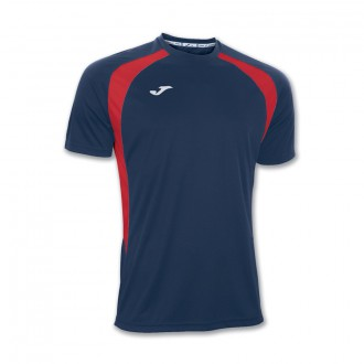 Jersey  Joma Champion III SS Navy blue-Red