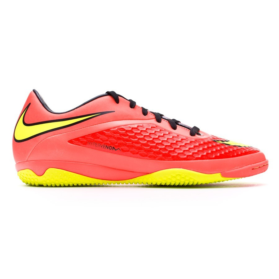 6786dabfe8c3 Futsal Boot Nike Hypervenom Phelon IC Bright crimson-Volt - Football store  Fútbol Emotion