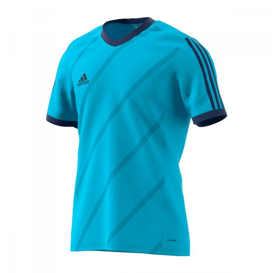 d6cdcc3e86e44 Camiseta adidas Tabela 14 m c Azul cyan-Marino - Tienda de fútbol Fútbol  Emotion