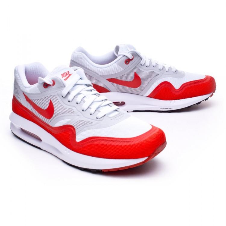 05611d20fee43 Tenis Nike Air Max Lunar1 Blanco-Rojo - Tienda de fútbol Fútbol Emotion