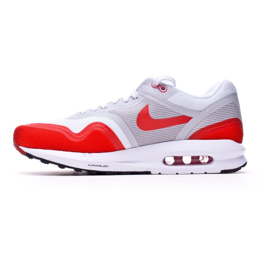 check out bfcb2 e54b8 Trainers Nike Air Max Lunar1 White-Red - Tienda de fútbol Fútbol Emotion
