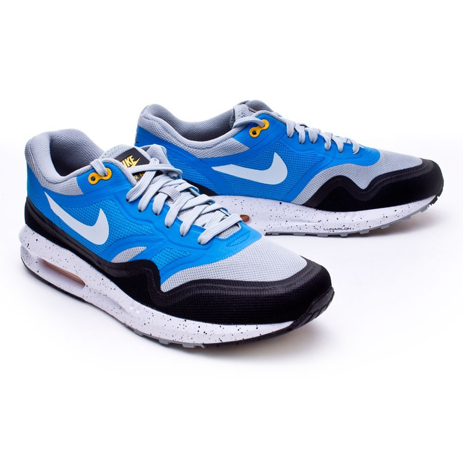 e9728fa28a7 Trainers Nike Air Max Lunar1 Gray-Blue - Tienda de fútbol Fútbol Emotion