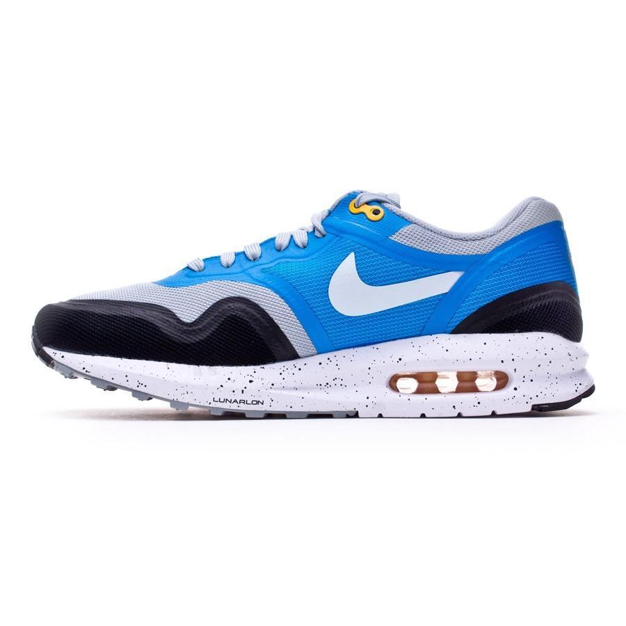 low priced b17b5 6bc8b Trainers Nike Air Max Lunar1 Gray-Blue - Football store Fútbol Emotion