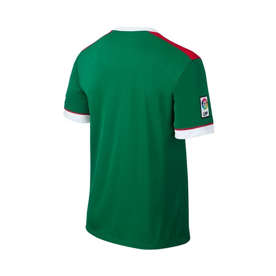e482ea1b39f25 Jersey Nike Jr A.C. Bilbao 2014-2015 Green-White-Red - Soloporteros ...