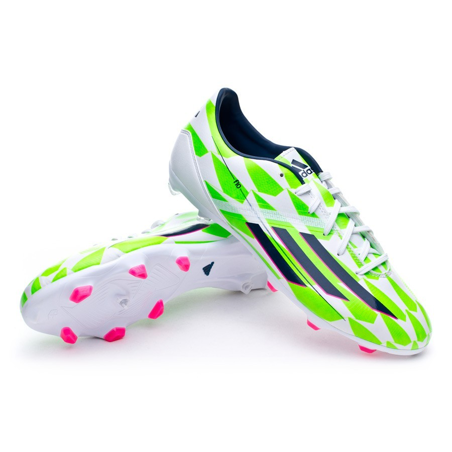 low priced 02ab7 34028 Boot adidas F10 TRX FG Core white-Rich blue-Solar green - Soloporteros es  ahora Fútbol Emotion