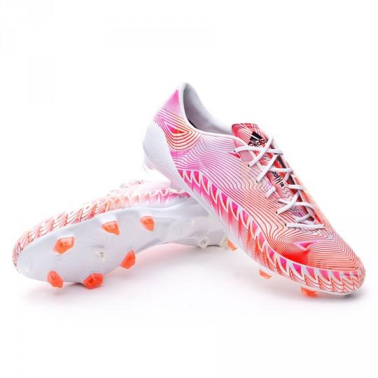 Bota  adidas Predator Crazylight FG White-Solar pink