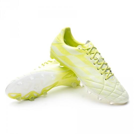Bota  adidas adipure 11Pro TRX FG Exclusiva White-Solar green