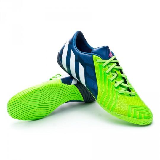 Futsal Boot adidas Predator Instinct Rich blue-White-Solar ...